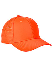 Big Accessories BA537 Unisex Performance Perforated Cap at GotApparel