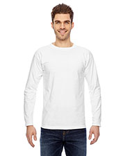 Bayside 6100 Men Long Sleeve Tee at GotApparel