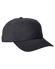 Big Accessories BA610 Unisex Heavy Washed Canvas Cap at GotApparel