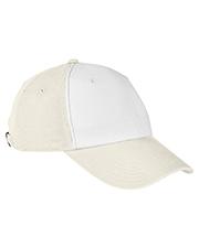 Big Accessories BA650 100% Washed Cotton Twill Baseball Cap at GotApparel