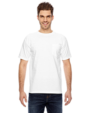 Bayside 7100 Men Short-Sleeve Tee With Pocket at GotApparel