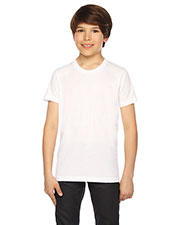 Custom Embroidered American Apparel BB201W Youth 3.6 oz Poly-Cotton Short-Sleeve Crewneck at GotApparel