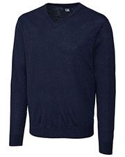 Cutter & Buck BCS01431 Men Douglas V-Neck Sweater at GotApparel
