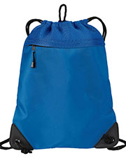 Port Authority BG810  Unisex Improved  Cinch Pack with Mesh Trim at GotApparel