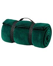 Port & Company BP10 Men Value Fleece Blanket with Strap at GotApparel