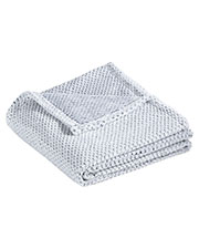 Port Authority BP35 Unisex 14.7 oz Plush Texture Blanket at GotApparel