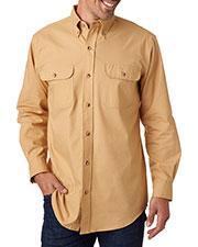 Backpacker BP7005 Men Solid Flannel Shirt at GotApparel