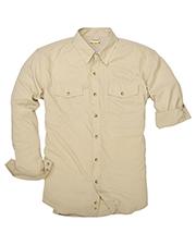 Backpacker BP7017T Men Tall Expedition Travel Long-Sleeve Shirt at GotApparel