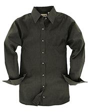 Backpacker BP7035 Women Nailshead Long-Sleeve Woven Shirt at GotApparel