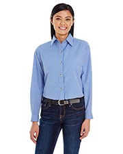 Backpacker BP7036 Women Yarn-Dyed Micro-Check Woven at GotApparel