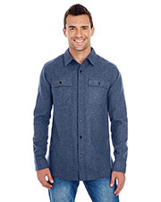 Burnside BU8200 Men Solid Flannel at GotApparel