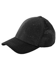 Big Accessories / BAGedge BX017 Unisex 6-Panel Structured Mesh Baseball Cap at GotApparel