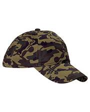 Big Accessories / BAGedge BX018 Unisex Unstructured Camo Hat at GotApparel