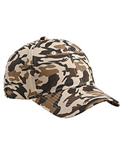 Big Accessories / Bagedge BX024 Unisex Structured Camo Hat at GotApparel