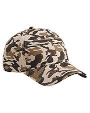 Big Accessories / Bagedge BX024 Unisex Structured Camo Hat at GotApparel