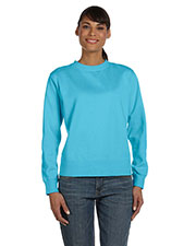 Comfort Colors C1596 Women 10 Oz. Garment-Dyed Wide Band Fleece Crew at GotApparel