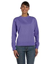 Comfort Colors C1596 Women 10 Oz. Garment-Dyed Wide Band Fleece Crew at GotApparel