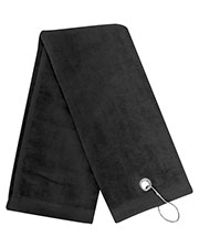 Carmel Towel Company C1624TG Unisex Legacy Trifold Golf Towel with Grommet at GotApparel