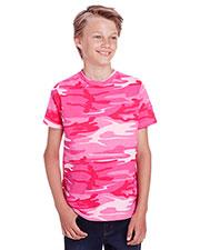 Code V C52207 Youth Camo T-Shirt at GotApparel