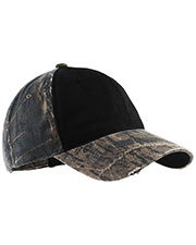 Port Authority C807 Unisex Camo Cap With Contrast Front-Panel at GotApparel