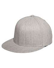 Port Authority C808 Men Flexfit Flat Bill Cap at GotApparel