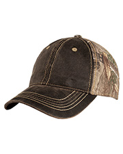 Port Authority C819 Men PigtDyed Camouflage Cap at GotApparel