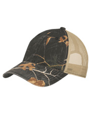 Port Authority C929 Unisex   Unstructured Camouflage Mesh Back Cap at GotApparel