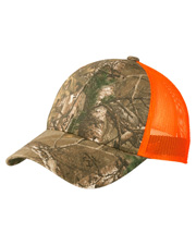 Port Authority C930 Unisex   Structured Camouflage Mesh Back Cap at GotApparel