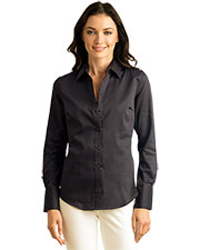 Calvin Klein CALV0030 Women 's  Non-Iron Dobby Shirt at GotApparel