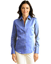 Calvin Klein CALV0030 Women 's  Non-Iron Dobby Shirt at GotApparel