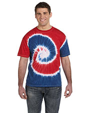 Tie-Dye CD100 Men 5.4 Oz., 100% Cotton D T-Shirt  at GotApparel