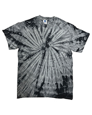 Tie-Dye CD101Y Youth 5.4 oz 100% Cotton Spider T-Shirt at GotApparel