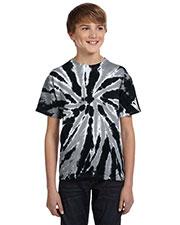 Tie-Dye CD110Y Boys 5.4 Oz. 100% Cotton Twist D T-Shirt at GotApparel