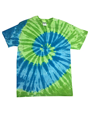Tie-Dye CD1180B Youth 5.4 oz 100% Cotton Islands Tie-Dyed T-Shirt at GotApparel
