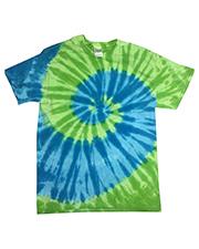 Tie-Dye CD1180 Men 5.4 oz 100% Cotton Islands Tie-Dyed T-Shirt at GotApparel