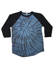 Tie-Dye CD2700 Men Raglan Long Sleeve T-Shirt at GotApparel