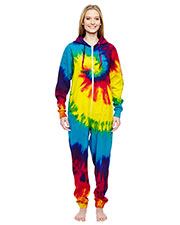 Tie-Dye CD892 Girls All-In-One Lounge Wear at GotApparel