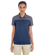 Ash City CE101W Women Balance Colorblock Performance Pique Polo at GotApparel