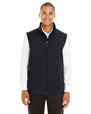 Ash City CE701 Men Cruise Two-Layer Fleece Bonded Soft Shell Vest at GotApparel