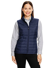 Ash City - Core 365 CE702W Women Prevail Packable Puffer Vest at GotApparel