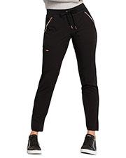 CK055P Mid Rise Straight Leg Drawstring Pants at GotApparel