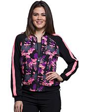 Cherokee CK309 Women Zip Front Jacket   at GotApparel