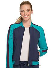 Cherokee CK310A Women Zip Front Warm-Up Jacket  at GotApparel