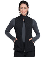 CK530A Reversible Quilted Vest at GotApparel