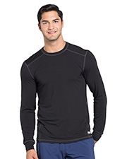 Cherokee CK650A Men Long Sleeve Underscrub Knit Top at GotApparel