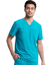 CK885 Men V-Neck Top at GotApparel