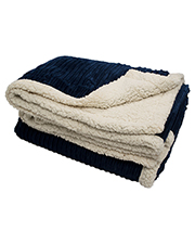 Pro Towels CORD 50x60 CORDuroy Lambswool Throw Blanket at GotApparel