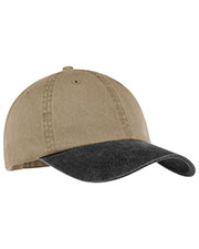 Port & Company CP83 Men Two-Tone Pigment-Dyed Cap at GotApparel