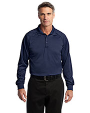 Cornerstone CS410LS Men Select Long-Sleeve Snag-Proof Tactical Polo at GotApparel