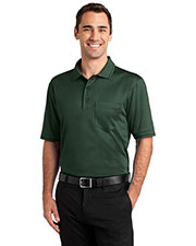 Cornerstone CS415 Men Select Snag-Proof Tipped Pocket Polo at GotApparel